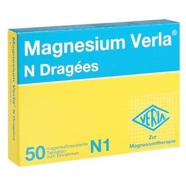Magnesium Verla® N Dragées, magensaftresistente Tbl.