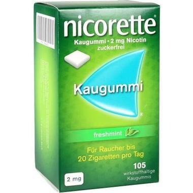 Nicorette® Kaugummi 2 mg freshmint