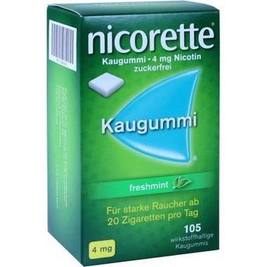 Nicorette® Kaugummi 4 mg freshmint