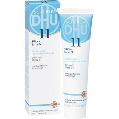 Biochemie 11 Silicea N D4 DHU Salbe