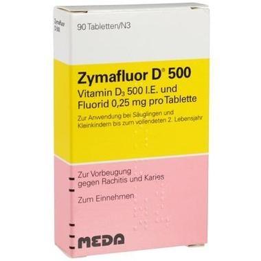 Zymafluor D® 500 Tbl.