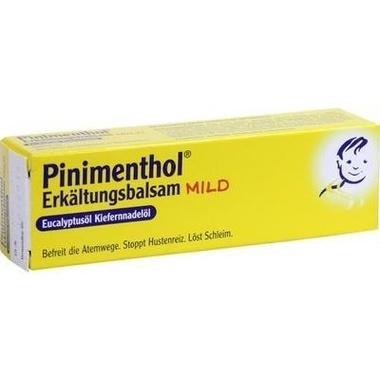 Pinimenthol® Erkältungsbalsam mild Eucalyptusöl Kiefernnadelöl