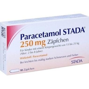 Paracetamol STADA® 250mg Zäpfchen
