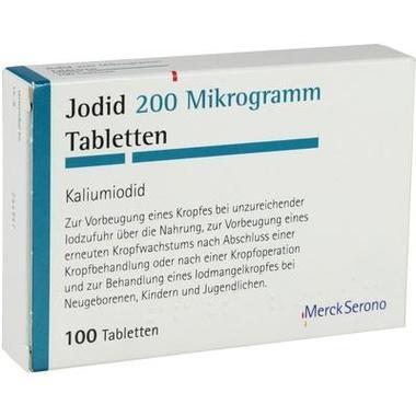 Jodid 200 Mikrogramm Tbl.