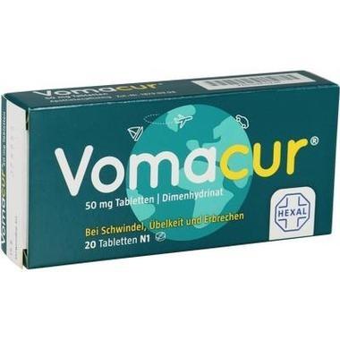 Vomacur®, 50 mg Tabl.