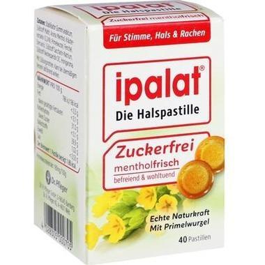 Ipalat® Halspastillen zuckerfrei