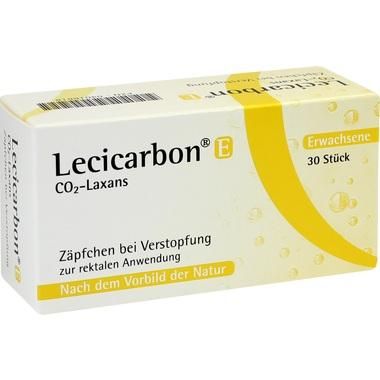 Lecicarbon® E CO<sub>2</sub>-Laxans (Zäpfchen für Erwachsene)