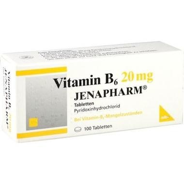 Vitamin B<sub>6</sub> 20mg JENAPHARM® Tbl.