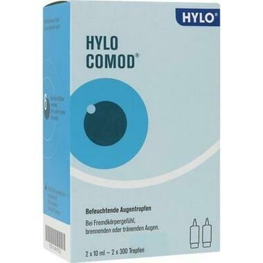 HYLO-COMOD®, Augentropfen (ohne Konservierungsmittel)