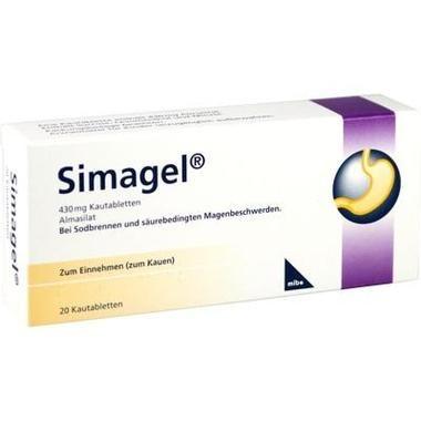 Simagel® 430 mg Kautabletten