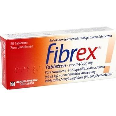 Fibrex® Tabletten, 300 mg/200 mg