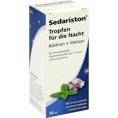 Sedariston® Tropfen für die Nacht Baldrian+Melisse