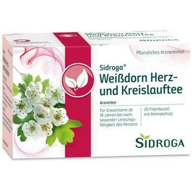 Sidroga Weißdorn Herz-und Kreislauftee Filterbeutel