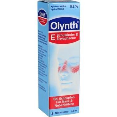 Olynth® 0,1 % Schnupfen Dosierspray Nasenspray, Lösung