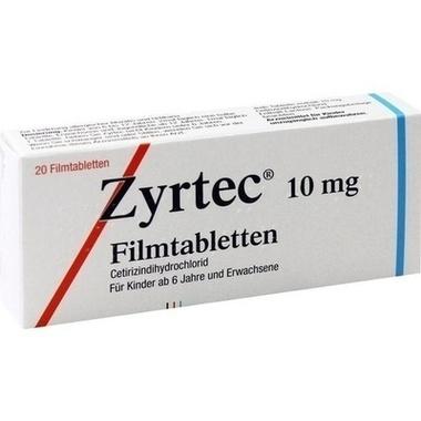 Zyrtec® 10 mg Filmtbl.