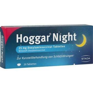 Hoggar® Night 25mg Doxylaminsuccinat Tabletten