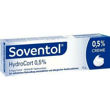 Soventol® HydroCort 0,5%, 5 mg/g Creme