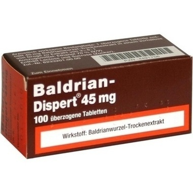 Baldrian-Dispert® 45 mg überzogene Tabletten