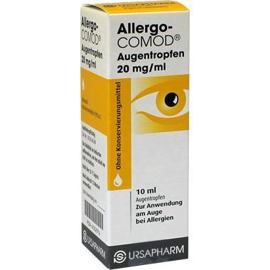 Allergo-COMOD® Augentropfen (ohne Konservierungsmittel)
