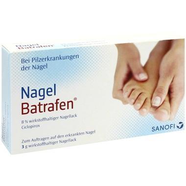 Nagel Batrafen® 8% wirkstoffhalt. Nagellack