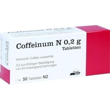 Coffeinum N 0,2g Tbl.