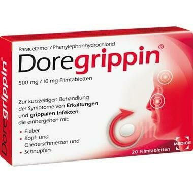 Doregrippin® 500 mg/10 mg Filmtabletten