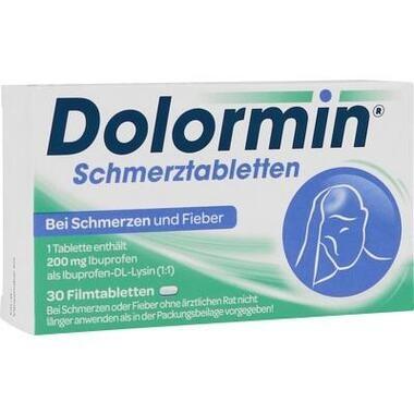 Dolormin® Schmerztabletten, 200 mg Filmtabletten