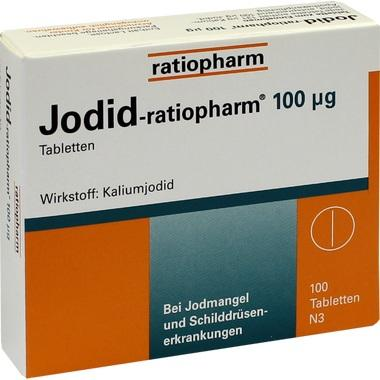 Jodid-ratiopharm® 100 µg, Tbl.