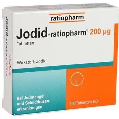 Jodid-ratiopharm® 200 µg, Tbl.