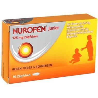 Nurofen® Junior 125mg Zäpfchen