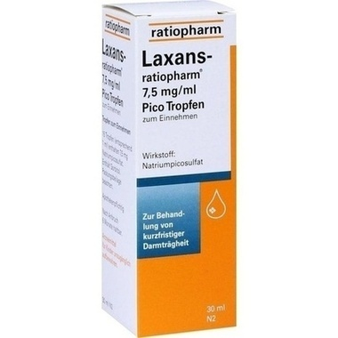 Laxans-ratiopharm® 7,5 mg/ml Pico Tropfen