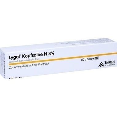 Lygal® Kopfsalbe N 3%