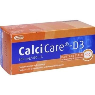 CalciCare®-D3 600 mg/400 I.E. Kautabletten