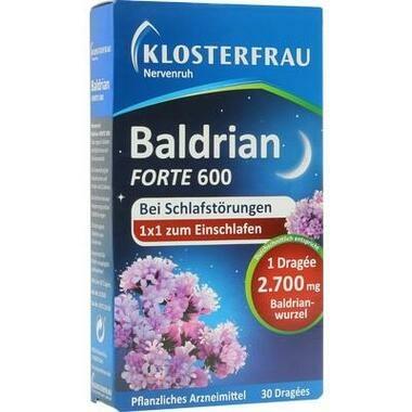 Klosterfrau Baldrian forte 600 Nervenruh überzogene Tabletten