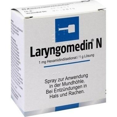 Laryngomedin® N, Spray zur Anwendung in der Mundhöhle