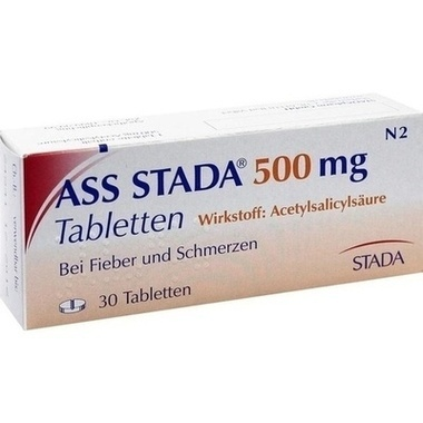 ASS STADA® 500mg Tabletten