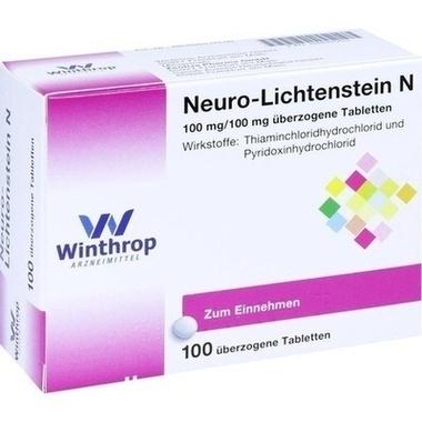 Neuro-Lichtenstein N 100 mg/100 mg, überzogene Tabletten