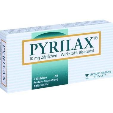 Pyrilax® 10mg, Zäpfch.