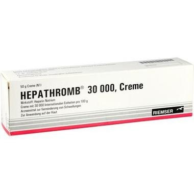 Hepathromb® 30000, Creme