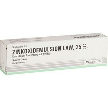 Zinkoxidemulsion LAW