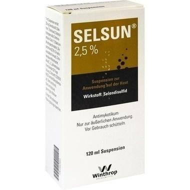SELSUN® 2,5 %, Suspension zur Anwendung auf der Haut
