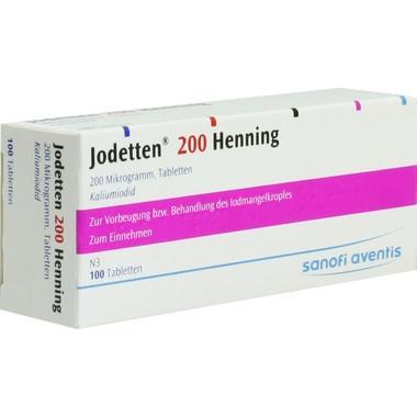 Jodetten® 200 Henning, 200 Mikrogramm, Tabletten