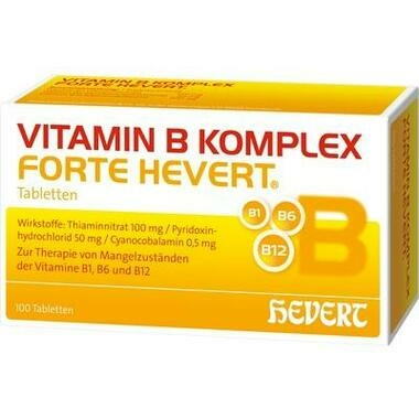 Vitamin B-Komplex forte Hevert Tabletten