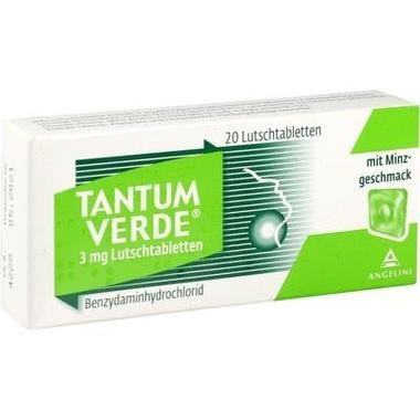 Tantum Verde® mit Minzgeschmack 3 mg Lutschtabletten