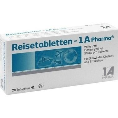 Reisetabletten - 1 A Pharma®, Tbl.