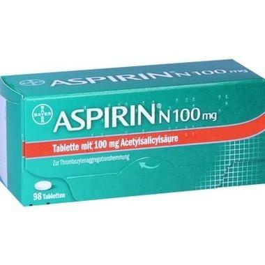 Aspirin® N 100mg, Tbl.