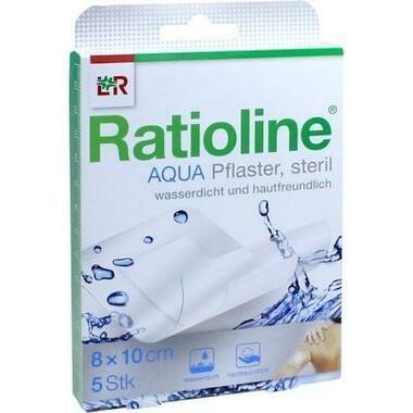 Ratioline aqua Duschpflaster plus 8x10cm steril
