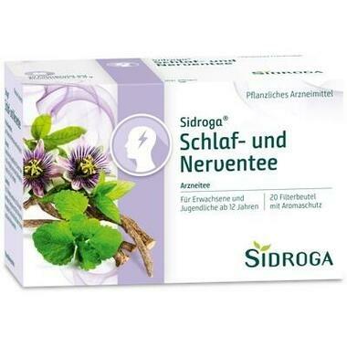 Sidroga Schlaf- und Nerven-Tee Filterbeutel