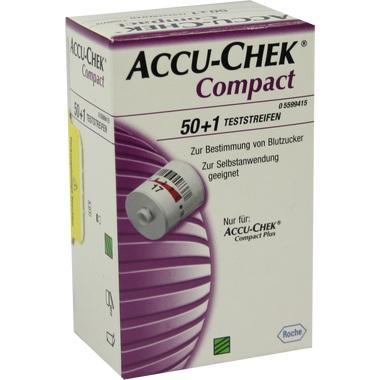 Accu-Chek® Compact Teststreifen