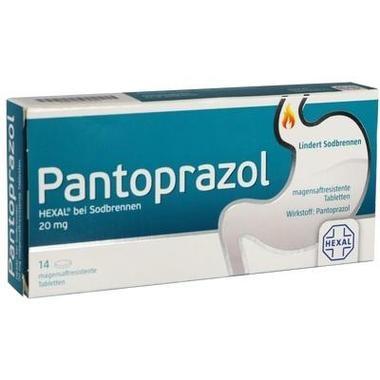 Pantoprazol HEXAL® bei Sodbrennen 20 mg magensaftresistente Tabletten